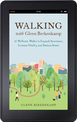 Walking With Glenn - book cover